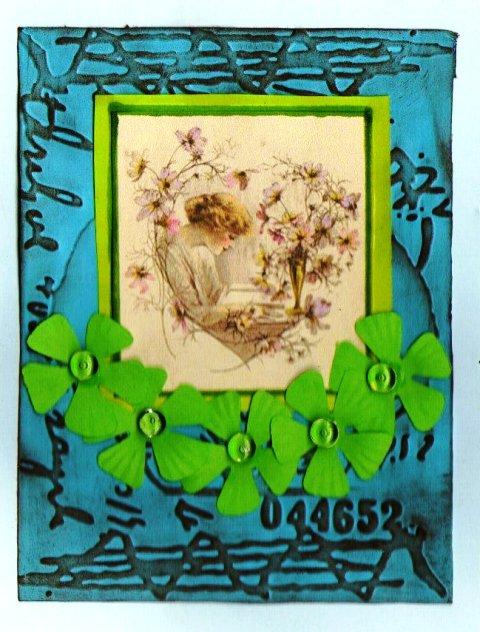 carte combo Bleu Vert Marron