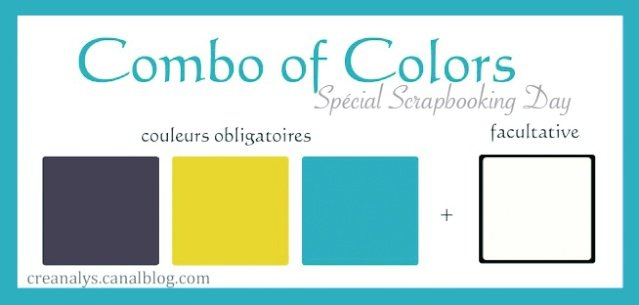 combo bleufoncé,bleuclair et jaune
